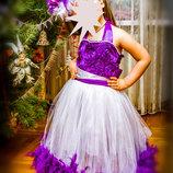 Красивое платье для торжеств.