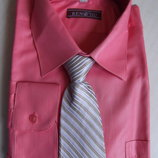 Нарядная Рубашка с галстуком р.37/164. Распродажа