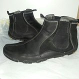 Ботинки кожаные 44-45 размер