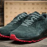 Кроссовки мужские Nike Air Max,замша,серый