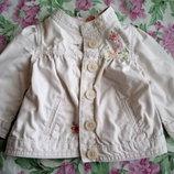 Нежный плащик- курточка для девочки.