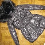 Куртка зимняя на девочку р-116 Kookai