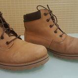 Стильные кожаные ботинки RIEKER