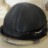 Шляпа кожаная идеальная