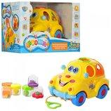 Автошка машинка-сортер с фруктами Limo Toy 9170 и Play smart