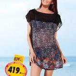 Пляжное Платье С Узором