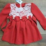 В наличии нарядные , яркие платья92-110 р