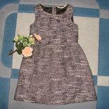 стильное нарядное платье H&M 5-6 лет отл.состояние