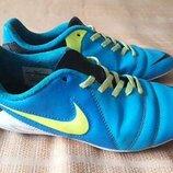 Бутсы копочки фирменные Nike р.37-23 см.