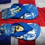 Стильние пляжние шлепки тапочки вьетнамки Clan 42