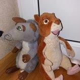 Мягкие игрушки персонажи из мультфильма Лесная братва.