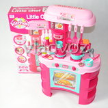 Детская игрушечная кухня со звуком, плита для девочки 2 конфорки
