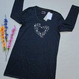 Трикотажное платье - ночнушка с длинным руковом Tcm Tchibo.