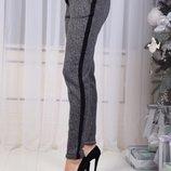 Женские теплые брюки шерсть начес