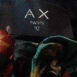 Нарядное платье бренд AX PARIS с оригинальным принтом , размер 10.