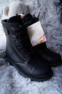 Ботинки кожаные для мальчика и девочки, зимние, новые р. 32