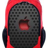 Рюкзак принт Эпл Apple iPhone рюкзак школьный городской с принтом 3D