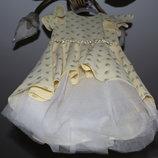 Нарядное детское платье с фатином на выпускной, 8 марта