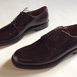 Мужские новые туфли Премиум класс SANTONI оригинал кожа р 43