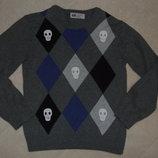 свитер хб не плотный 4-6лет нм большой выбор одежды 1-16лет