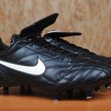 Футбольные бутсы шестишиповки Nike Tiempo, найк. 39 - 40 размер. Оригинал