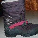 зимние сапожки quechua 34 размер на девочку