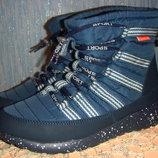 Ботиночки спортивный стиль, на зиму,38,новые.