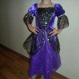 Карнавальные платье на девочку 6-8 лет