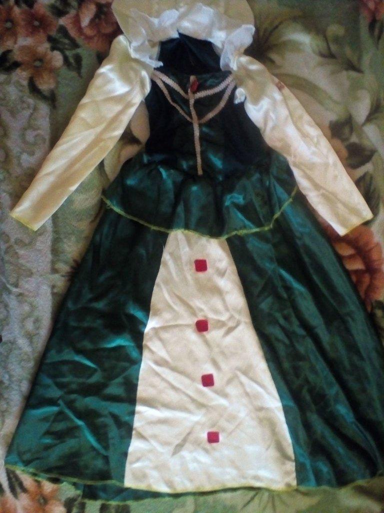 d589fb89f0ed67b Карнавальное новогоднее платье принцесса Фиона: 160 грн - детские ...