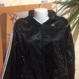 Кофта - куртка спортивная на флисе Адидас