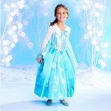 прокат карнавального платья принцессы Эльзы Frozen