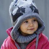 Фирменная шапочка 42-44 до 46 . Три цвета. Молочная, Розовая, Серая.