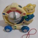 Музыкальная игрушка каталка Fisher-Price