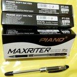 Ручки Maxriter. Толщина линии 0,6 мм. Цвет черный.