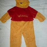 костюм медведя,винни-пуха на 2-3 года