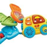 Vtech Музыкальная машинка с ключиками Baby My 1st Car Key Rattle