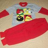 Теплая яркая пижама Птичкки