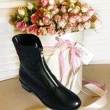 Восхитительные классические женские ботинки Encanto, натуральная кожа, р. 36-41
