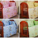 Детский постельный набор в кроватку-сменка