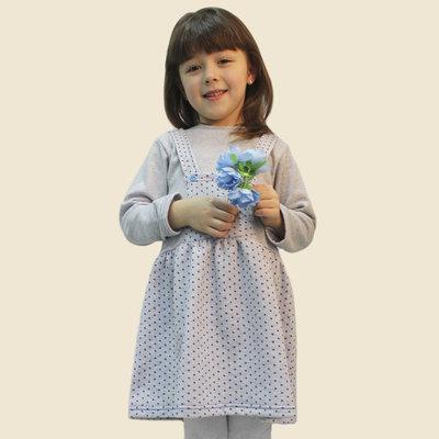 Платье для девочек с начесом рост 92-116