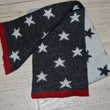 1 - 3 года Очень стильный фирменный шарф детский звездочки Next некст
