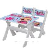 Столик и два стульчика деревянные Lol М 2100-13