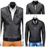 Мужская эко-кожаная куртка