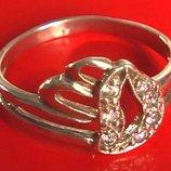 Кольцо Перстень Серебро 925 Проба 1.44 Гр 16.5 Р Playmoment