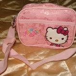 маленькая детская сумка Hello Kitty текстиль идеал