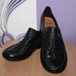 кожаные туфли clarks разм 37 по стельке 24 см Вьетнам