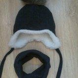 шапка зима 0-9р. в асортименті