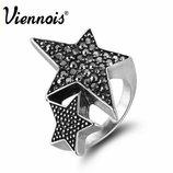 Кольцо звезда очень стильное и качественное колечко смотрится дорого и достойно