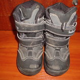 Зимние ботинки, бу, р. 27, стелька 16,5 см