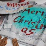 свитшот ручная роспись новогодний Любой Рисунок На Ваш Выбор